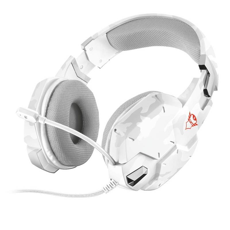 Trust Gaming - GXT 322W Carus Gaming Headset - snow camo